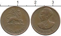 Изображение Монеты Эфиопия 1 цент 1944 Медь XF