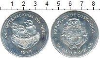 Изображение Монеты Коста-Рика 100 колон 1979 Серебро UNC-
