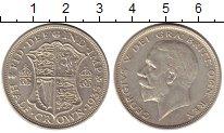 Монета Великобритания 1/2 кроны Серебро 1936 XF фото