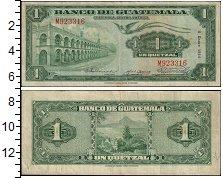 Изображение Банкноты Гватемала 1 кетцаль 1954  VF