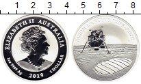 Изображение Мелочь Австралия 1 доллар 2019 Серебро Proof