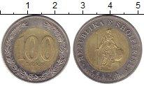 Изображение Монеты Албания 100 лек 2000 Биметалл XF