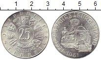 Изображение Монеты Австрия 25 шиллингов 1961 Серебро UNC-