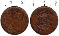 Изображение Монеты Люксембург 25 сантим 1930 Бронза XF