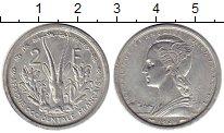 Изображение Монеты Франция Французская Экваториальная Африка 2 франка 1948 Алюминий UNC-