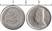 Изображение Монеты Египет 2 пиастра 1929 Серебро XF