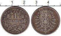Изображение Монеты Германия 1 марка 1881 Серебро VF