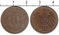 Изображение Монеты Германия 10 пфеннигов 1903 Медно-никель VF