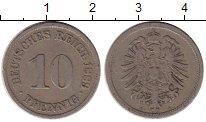 Изображение Монеты Германия 10 пфеннигов 1889 Медно-никель VF