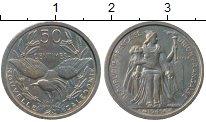 Изображение Монеты Франция Новая Каледония 50 сантим 1949 Медно-никель XF