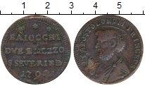 Изображение Монеты Ватикан 2 1/2 байоччи 1792 Медь VF