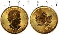 Изображение Монеты Канада 50 долларов 2015 Золото UNC