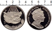 Изображение Мелочь Виргинские острова 1 доллар 2019 Медно-никель UNC