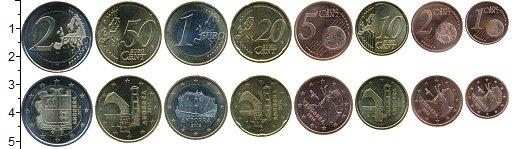 Изображение Наборы монет Андорра Андорра 2014-2018 2014  UNC- В наборе 8 монет ном
