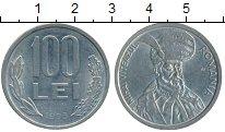 Изображение Дешевые монеты Румыния 100 лей 1993