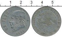 Изображение Дешевые монеты Мексика 1 песо 1971