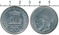 Изображение Дешевые монеты Греция 20 драхм 1982