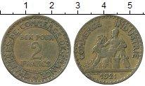 Изображение Дешевые монеты Франция 2 франка 1921