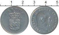 Изображение Дешевые монеты Дания 1 крона 1967