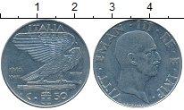 Изображение Дешевые монеты Италия 50 чентезимо 1940