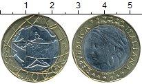 Изображение Дешевые монеты Италия 1000 лир 1997