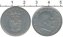 Изображение Дешевые монеты Дания 1 крона 1972