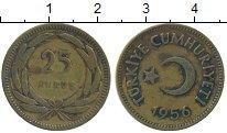 Изображение Дешевые монеты Турция 25 куруш 1956