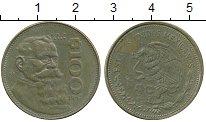 Изображение Дешевые монеты Мексика 100 песо 1987
