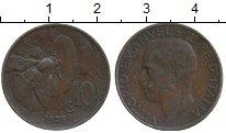 Изображение Дешевые монеты Италия 10 чентезимо 1925