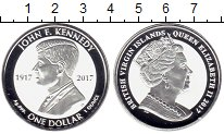 Изображение Монеты Виргинские острова 1 доллар 2017 Серебро Proof