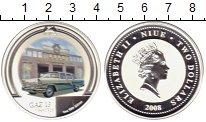 Изображение Монеты Новая Зеландия Ниуэ 2 доллара 2008 Серебро Proof