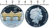 Изображение Монеты Новая Зеландия Острова Кука 10 долларов 2013 Серебро Proof-