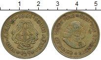 Изображение Дешевые монеты ЮАР 1/2 цента 1961