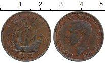 Изображение Дешевые монеты Великобритания 1/2 пенни 1944