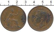 Изображение Дешевые монеты Великобритания 1 пенни 1948