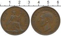 Изображение Дешевые монеты Великобритания 1 пенни 1939