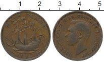 Изображение Дешевые монеты Великобритания 1/2 пенни 1941 Медь XF