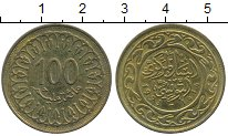 Изображение Дешевые монеты Тунис 100 миллим 1993