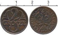 Изображение Дешевые монеты Польша 2 гроша 1928