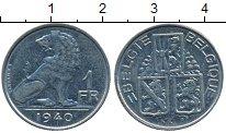 Изображение Дешевые монеты Бельгия 1 франк 1940