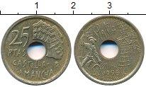 Изображение Дешевые монеты Испания 25 песет 1996