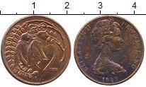 Изображение Дешевые монеты Новая Зеландия 2 цента 1983
