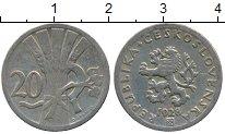 Изображение Дешевые монеты Чехия Чехословакия 20 хеллеров 1928