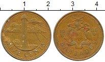 Изображение Дешевые монеты Барбадос 5 центов 1988