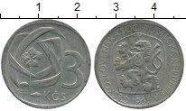 Изображение Дешевые монеты Чехословакия 3 кроны 1965