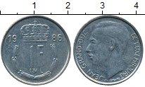 Изображение Дешевые монеты Люксембург 1 франк 1986