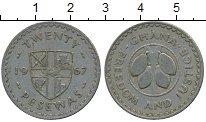 Изображение Дешевые монеты Гана 20 песев 1967