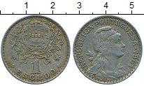 Изображение Дешевые монеты Португалия 1 эскудо 1961 Медно-никель VF+