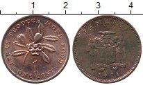 Изображение Дешевые монеты Ямайка 1 цент 1971