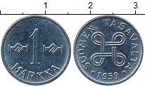 Изображение Дешевые монеты Финляндия 1 марка 1959